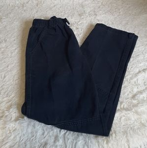 3/$30 Lands' End Kids navy chino pants size 14S